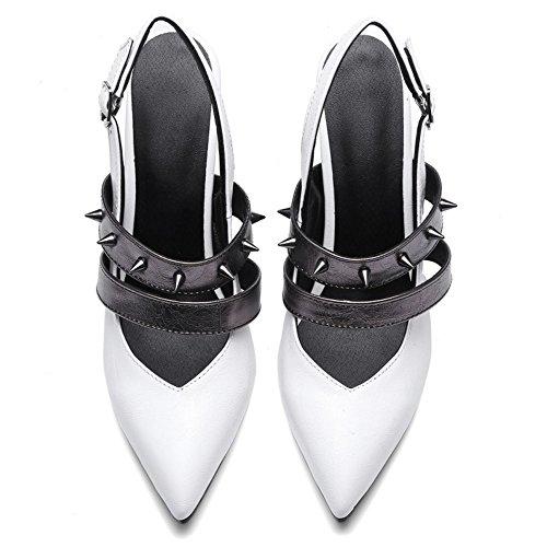 Stiletto Coolcept Mode Escarpins Escarpins Femmes Coolcept Blanc Mode Femmes Les Les Stiletto Slingback RwAIEdvxq