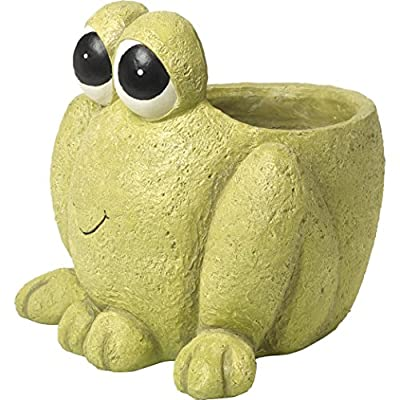 Precious Moments Frog Planter: Home & Kitchen