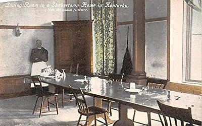 Dining Room Shakertown, Kentucky USA KY Shaker Postcard
