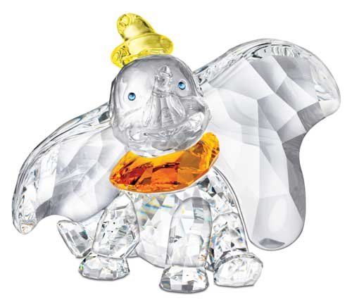 Swarovski Crystal Disney Dumbo Figurine 2011 Limited Edition