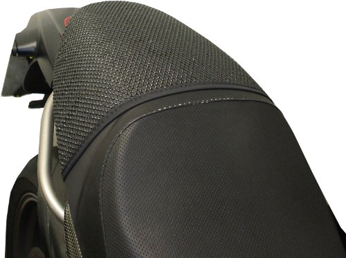 (TRIBOSEAT Ducati Monster (1993-2007) Anti Slip Motorcycle Passenger SEAT Cover Accessory Black)