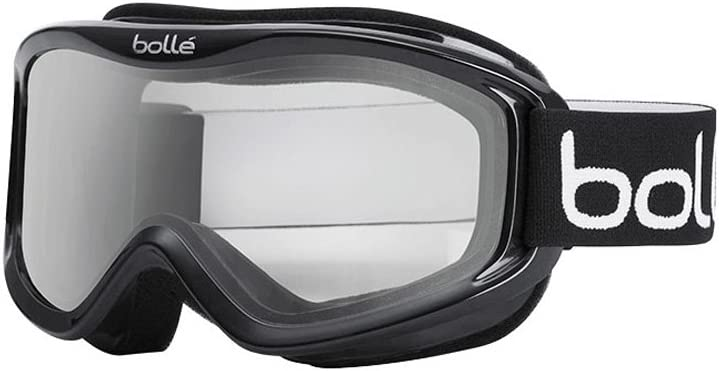 Bolle Mojo Snow Goggles Shiny Black, Clear