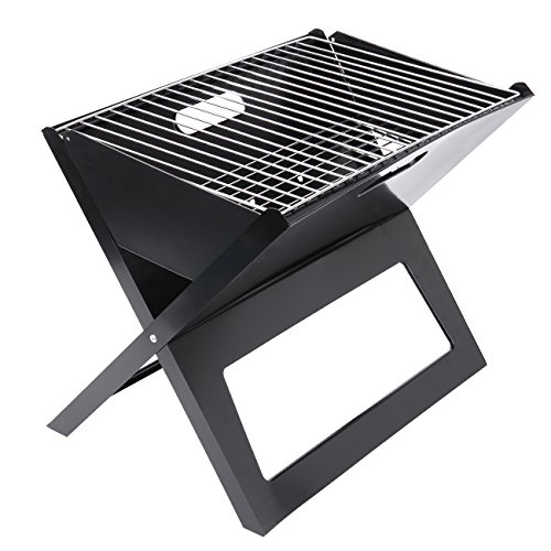 Ridgeyard Spit Roaster Rotisserie Pig Lamb Roast Goat,Chicken BBQ Spit Roaster Portable Picnic Outdoor Cooker Grill (Folding Barbecue Grill)
