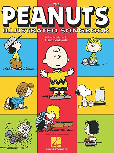 The Peanuts  Illustrated Songbook (Piano Moon Blue Sheet)