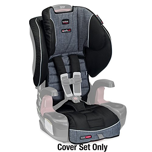 Britax Frontier ClickTight Harness-2-Booster Car Seat Cover Set, Vibe