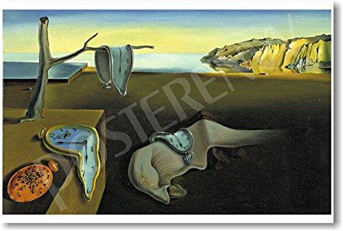 (The Persistence of Memory - 1931 - Salvador Dali - NEW Fine Arts Poster)