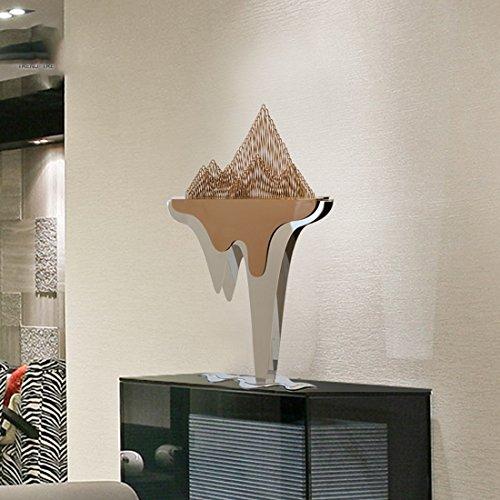 Sungl Ornament Berg Elementkunst Bureau Modern Onderhoudend Decor Sculptuur Salontafel Kantoor Aan Huis
