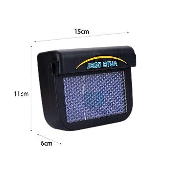 Marlon114Him ventilador solar del coche extractor del automóvil ...