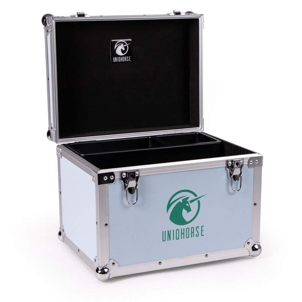 UNIQHORSE Putzbox Iconic Stabil zum Draufstellen F/ür Reiter entwickelt