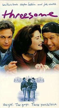 Amazon Com Threesome Vhs Lara Flynn Boyle Josh Charles