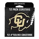 NCAA Colorado Buffaloes Pulpboard Coasters, Set of 12