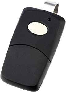 for Multicode 3089 Linear 3089 Garage Door Remote Opener (308911, MCS308911 300mhz) Black
