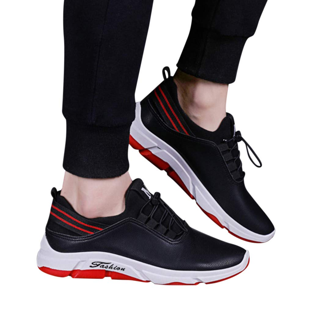91b6bf98a8c4d Amazon.com: Memela Shoe* Men Sneakers Mens Leather Hiking Sneaker ...
