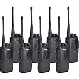 LW Wireless Walkie-Talkie Two Way Radio-Wanhua HTD825 Long Range 3500mAh Batteries 16CH 2 Way Comunication Handheld Radios with USB Charger Cable 8Pack