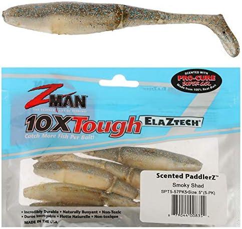 Z-Man SPT5-230PK5 Scented Paddlerz