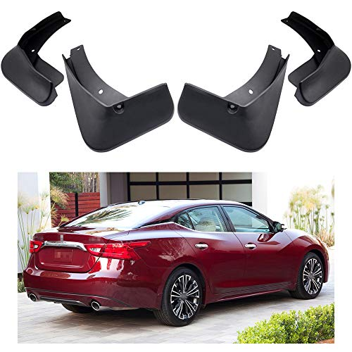 MOERTIFEI Car Mudguard Fender Mud Flaps Splash Guard Kit fit for Nissan Maxima 2016-2019 17 18