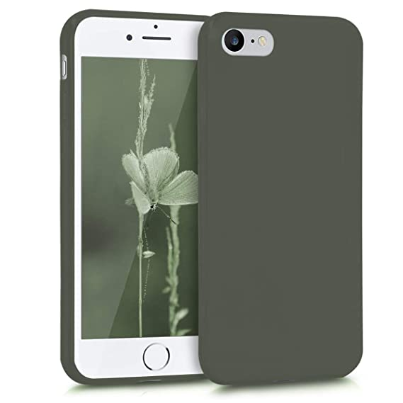 f10df2a0dfd Image Unavailable. Image not available for. Color  kwmobile TPU Silicone  Case for Apple iPhone 7 8 - Soft Flexible Shock Absorbent Protective