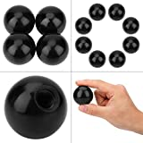 Ball Top Handle Arcade Joystick 8pcs Replacement Black Threaded Ball Handle Knob Accessories for Arcade Game Machine 40mm M10