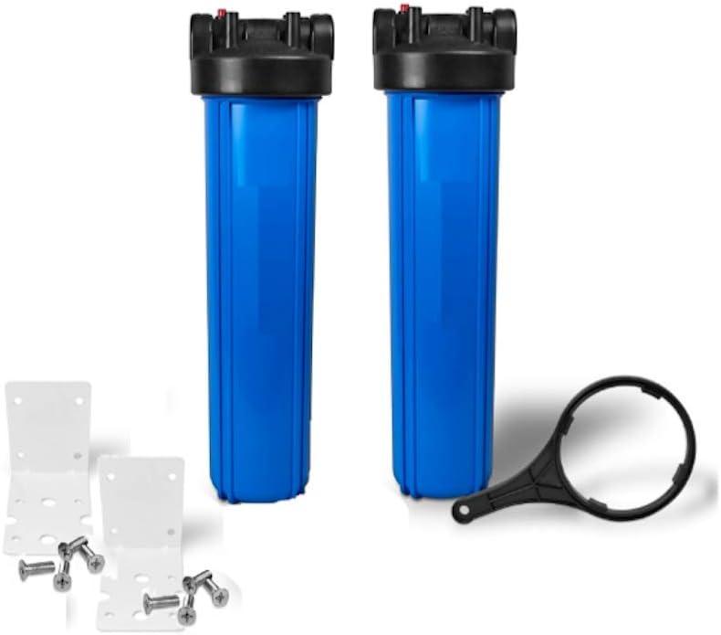 Pentek 150233 Big Blue 20 x 4.5 Inch Whole House Filter Housing 1 NPT
