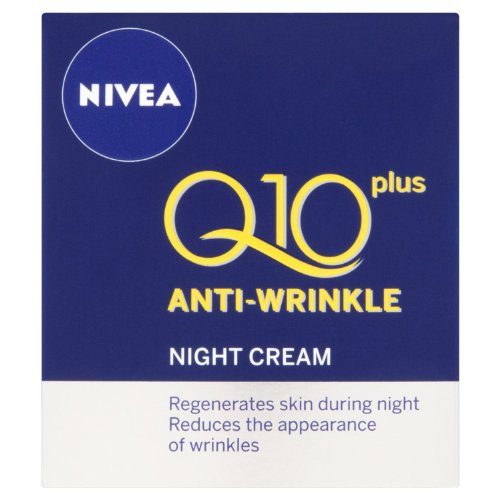 1.7oz Nivea Visage Q10 Plus créatine Crème de nuit anti-rides. / 50ml