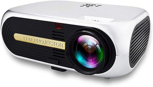 LICHUXIN Proyector, con 2.000 lúmenes y 3D Full HD 480P, 180 ...