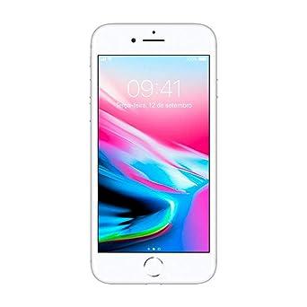 a82799b22 iPhone 8 Apple 256GB Prata Tela Retina HD 4,7 IOS 11 4G e Câmera de ...