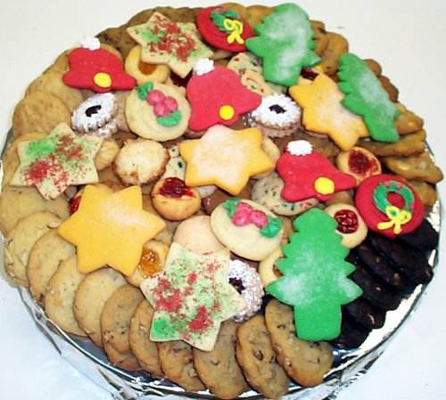 Amazon.com: Christmas Cookie Tray Large