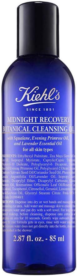 Kiehls Kiehl'S Midnight Recovery Botanical Cleansing Oil 85Ml 85 ml