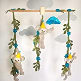 Monkeys Hanging Baby Mobile-Customized Baby Mobile-3 DAYS WORLDWIDE DELIVERY BY UPS- Babyshower Gift- Baby Stuff
