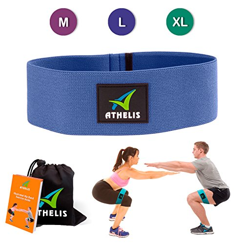 ATHELIS Hip Band | Thick Booty Resistance Circle Loop  for M