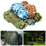 3 16 cast net - Exterior Accessories - 1mx2m Camo Camouflage Net Car Cover Camping Military Hunting Shooting Hide - Disguise Earnings Profit Income Profits Final Lucre Meshwork Reticulation Sack - 1PCs