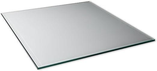 Cristal 70 x 70 cm de vidrio templado de 12 mm de pared con ...