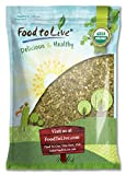 Organic Pepitas / Pumpkin Seeds by Food to Live (Raw, No Shell, Kosher) — 18 Pounds