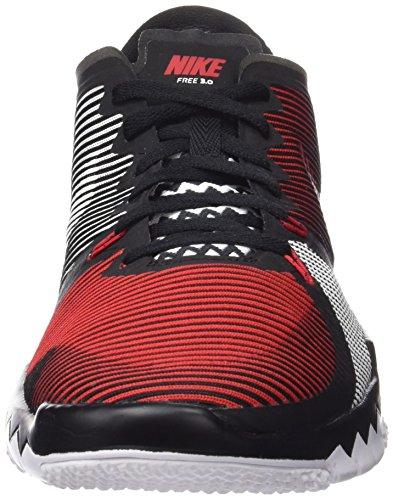 Nike Free Trainer 3.0 V4, Scarpe da Atletica Leggera Uomo Rosso (Universitätsrot/Weiß/Schwarz 601)