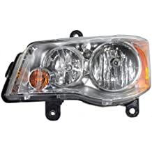 08-14 Chrysler Town & Country Halogen Headlamp Assembly Left 11-14 Dodge Caravan Replace the following part number CH2502192, 5113337AG, 114-01111L