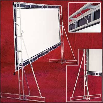 Truss Style Cinefold Cineflex Portable Projection Screen Viewing Area: 25' Diagonal ()