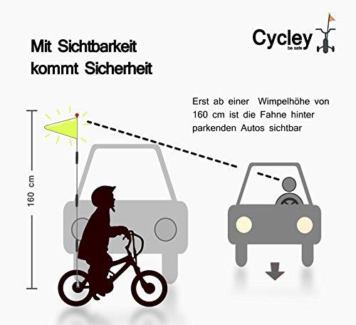 Banderín de seguridad para bicicleta 2