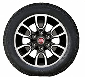 ORIGINAL Fiat Winter Complete Wheel Set Bridgestone Fullback