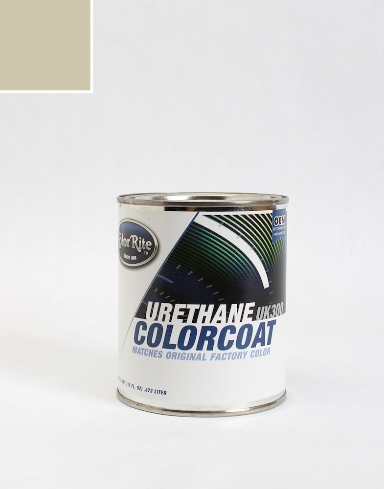 ColorRite Pint Lincoln Navigator Automotive Touch-up Paint - Pueblo Gold Effect Clearcoat G3 - Color-Only Package
