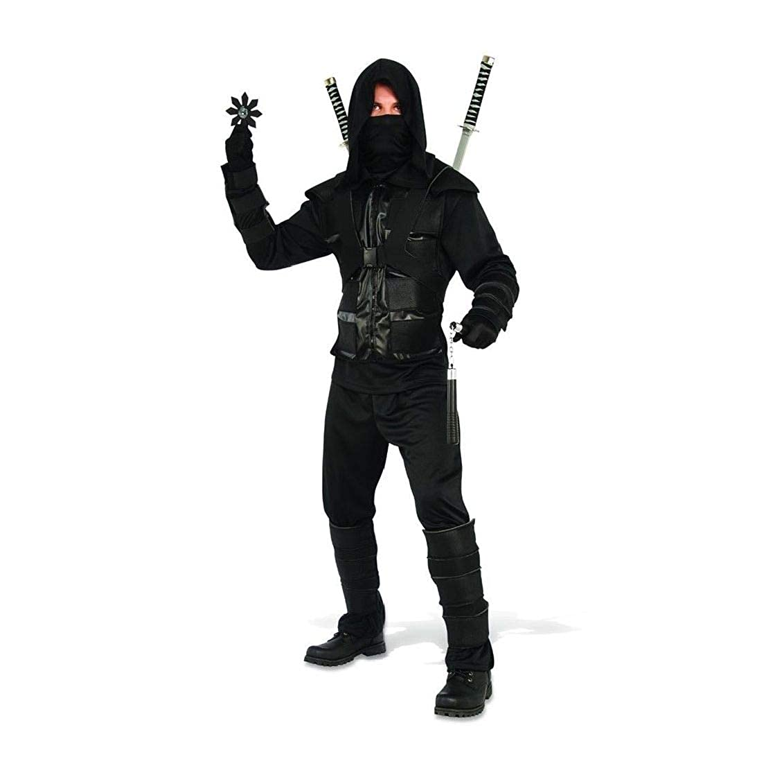Amazon.com: Dark Ninja Adult Mens Costume: Clothing