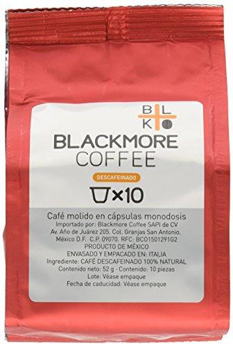 Blackmore Coffee KES10X03 Cápsulas de Café Descafeinado, 30 Piezas