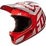 Fox Head Rampage Adult MX Full Face Bike Helmet (Race Red/White, XL)