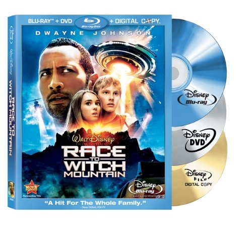 Race to Witch Mountain (Three-Disc Edition: Blu-ray/DVD/Digital Copy) (Cast Of Race To The Witch Mountain)