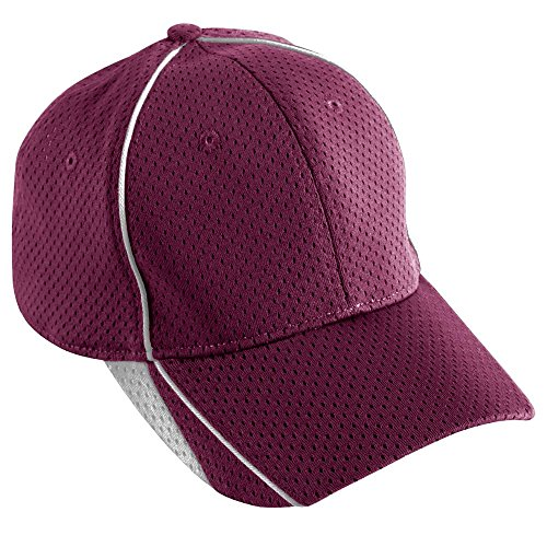 Augusta Sportswear ADULT FORCE CAP OS Maroon/White