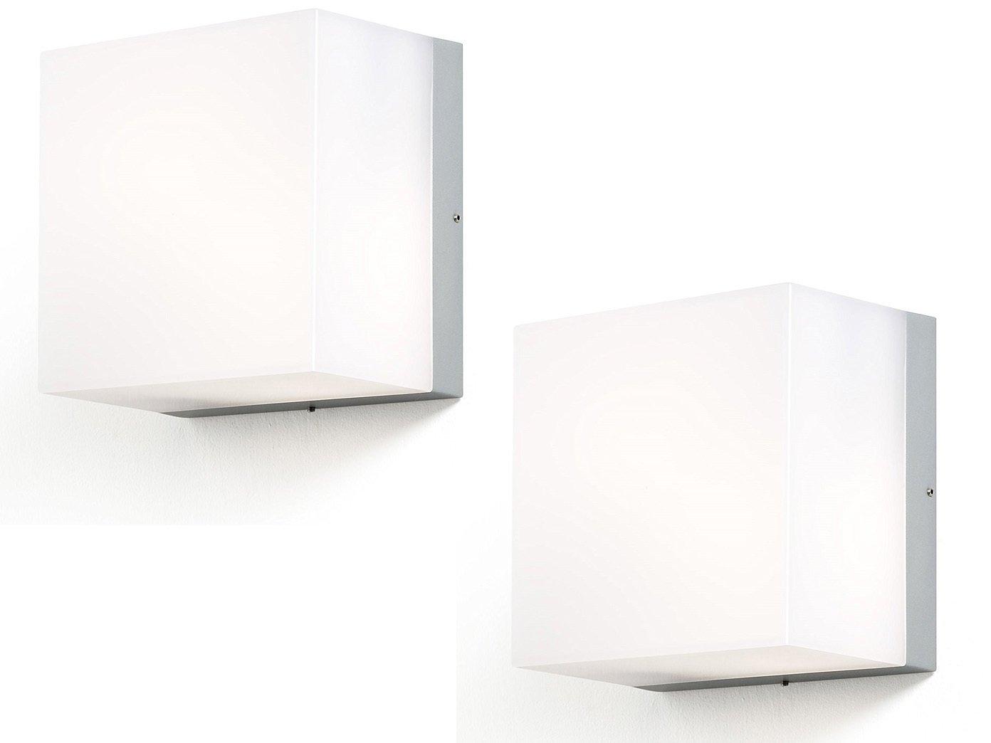 Konstsmide set risparmio energetico lampada applique sanremo x