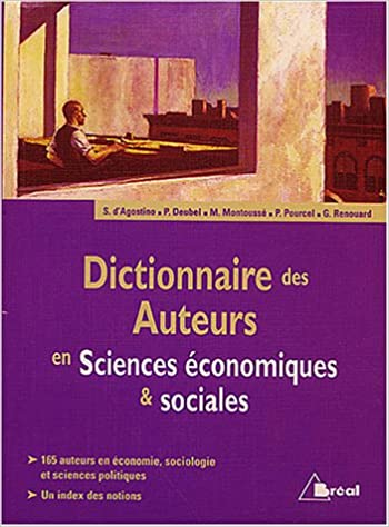 Livre gratuits en ligne Dictionnaire des auteurs en Sciences économiques & sociales pdf