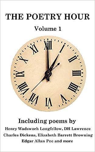 Telechargement De Livre En Anglais The Poetry Hour Volume