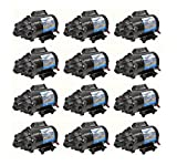 12 Pack EVERFLO 12 Volt 7.0 GPM Diaphragm Water Pumps 60 psi Lawn Sprayers Boats RV by The ROP Shop