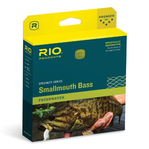 - RIO Fly Fishing Fly Line Smallmouth Bass Wf7F Bronze/Beige Fishing Line, Bronze-Beige