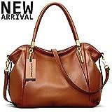 New Arrival Leather Satchel Purses and Handbags Shoulder Tote Crossbody Bag for Women,Jack&Chris,WBDZ023